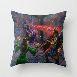 Demi-Lich Throw Pillow