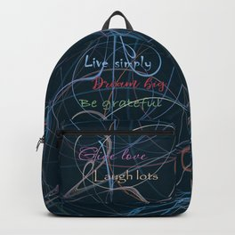 Positive charge Backpack