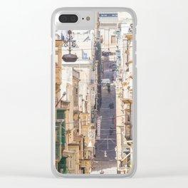 Saint Paul Street in Clear iPhone Case