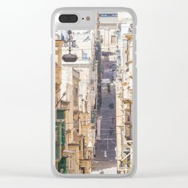 Saint Paul Street in Clear iPhone Case