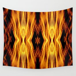 Flame Pattern Fire Astract Wall Tapestry