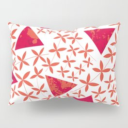 Shapes in Nature : Red Pillow Sham