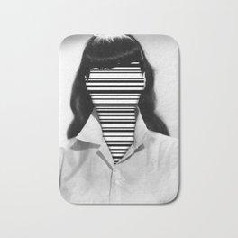 Barcode Collage #1 Bath Mat