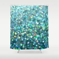 under the sea Shower Curtains featuring Under the Sea... by Lisa Argyropoulos