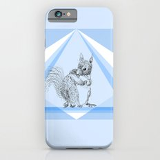 Squirrel stealing nuts iPhone 6s Slim Case
