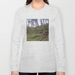 Trees Pentland Hills Scotland Long Sleeve T-shirt