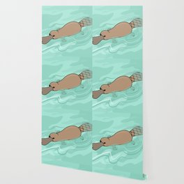 Kawaii platypus Wallpaper