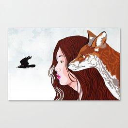 Kindred Spirits Canvas Print
