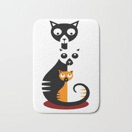 Cats Family Bath Mat
