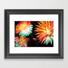 Fireworks - Philippines 6 Framed Art Print
