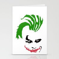 joker Stationery Cards featuring Joker by The Artist