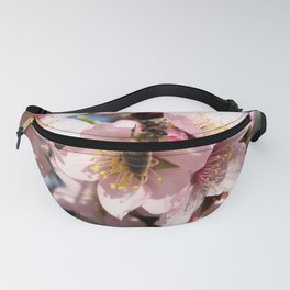 Bee and its pollen Fanny Pack