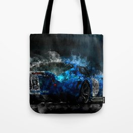 Shelby Daytona Coupe at Night Tote Bag