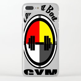 Commod Bod Gym Clear iPhone Case
