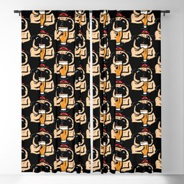 It's beer time Blackout Curtain