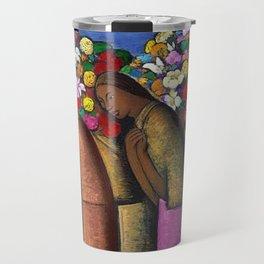 Magnificent 'Las Floreras' by Alfredo Martinez Travel Mug