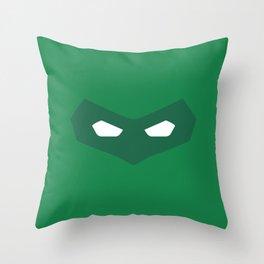 Green Lantern superhero Throw Pillow