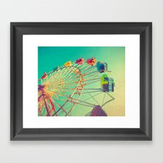 October Skies Framed Art Print