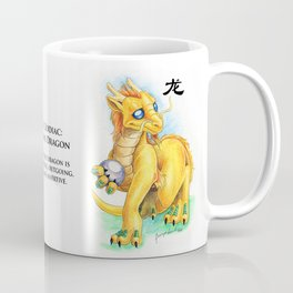 Chinese Zodiac Year of the Dragon Coffee Mug