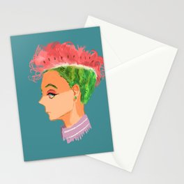 Watermelon Hair Stationery Cards