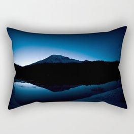 Mt Rainier @ Sunset Rectangular Pillow