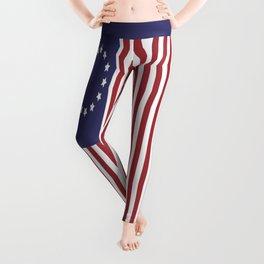 Betsy Ross 1776 Flag:  Still a Symbol Of Freedom Not Oppression Leggings
