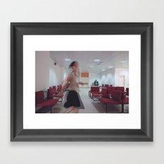 The Sprint Framed Art Print