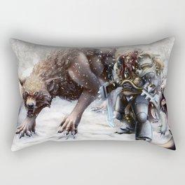 Richter Blood Bain Rectangular Pillow