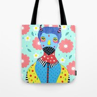 kpop Tote Bags featuring Make Me Colourful by Saif Chowdhury