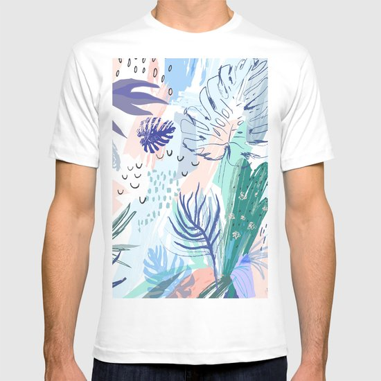 Pastel palm springs t shirt by libby white society6 for T shirt city palm springs