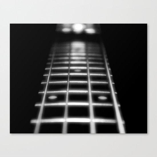 Guitar Fret Canvas Print