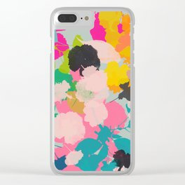 cherry blossom 6 Clear iPhone Case