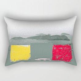 Cala Tarida-2 Rectangular Pillow