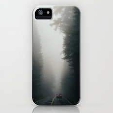 Dark Forest Driving iPhone (5, 5s) Slim Case