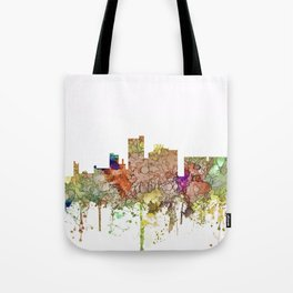Lubbock, Texas Skyline - Faded Glory Tote Bag