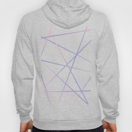 Rose Quartz & Serenity on Black Hoody