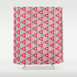 Tulip Kaleidoscope Shower Curtain