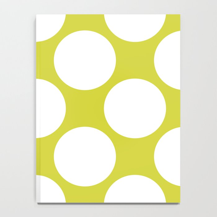 Polka Dots Green Notebook