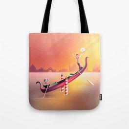 Venice Seesaw Tote Bag