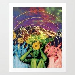 Universal Energy Art Print