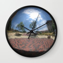 Sphere Study II Wall Clock