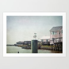 The Life of a Seagull Art Print