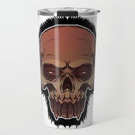 Skull cartoon Travel Mug