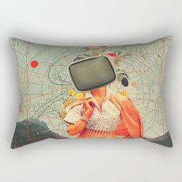 Antarctic Broadcast Rectangular Pillow