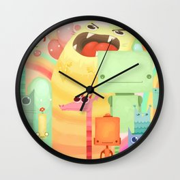 Who the What Wall Clock