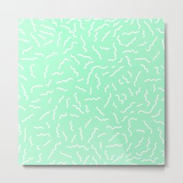 ALEXA ((seafoam green)) Metal Print