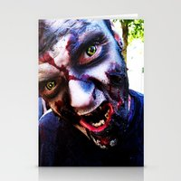 zombies Stationery Cards featuring Zombies ! by bobbierachelle