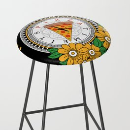It's Pizza Time Bar Stool