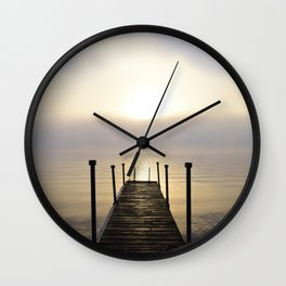 Into the Light: Sunrise, First Full Day of Fall Wall Clock