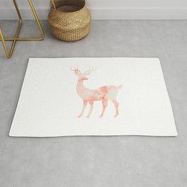 Stone Textured Deer Rug